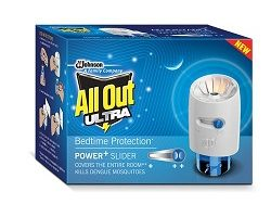 All Out Ultra Power+ Slider Mosquito Repellent Refill with Machine - 45ml