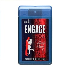 Engage On Classic Woody Pocket Perfume - 18 ml (For Men)