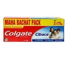 Colgate Cibaca Anti-Cavity Toothpaste, For Healthy, White Teeth, 350g
