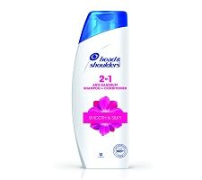 Head & Shoulders Smooth and Silky 2-in-1 Shampoo